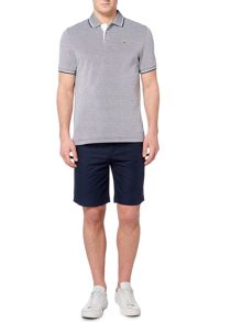 Howick Paterson Birdseye Short Sleeve Pique Polo