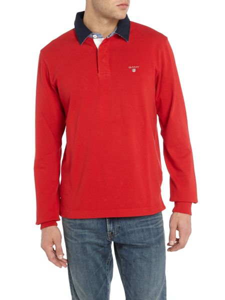 Gant Long-Sleeve Cotton Rugby-Shirt
