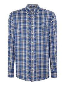 Gant Bright Plaid Long-Sleeve Cotton Shirt