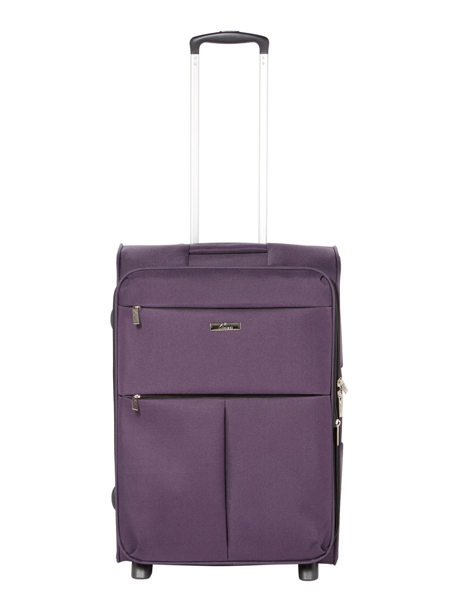 Linea Cambridge purple 2 wheel soft medium suitcase Purple