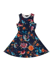 Blush Girl`s Dress Sleeveless Floral