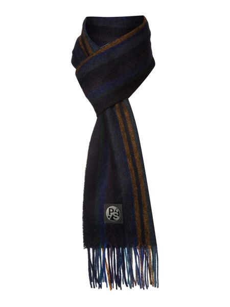 PS By Paul Smith Woven stripe scarf