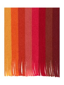Paul Smith London Wool stripe scarf