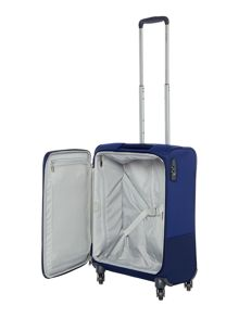 Samsonite Base boost blue 4 wheel 55cm cabin suitcase