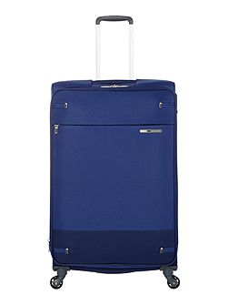 Base boost blue 4 wheel 78cm large suitcase