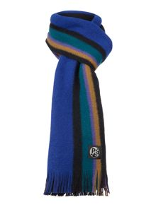 Paul Smith London  Reversible stripe scarf
