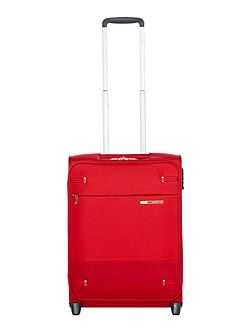 Base boost red 2 wheel 55cm cabin suitcase