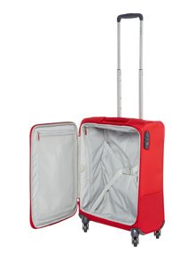 Samsonite Base boost red 4 wheel 55cm cabin suitcase
