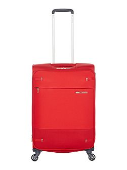 Base boost red 4 wheel 66cm medium suitcase