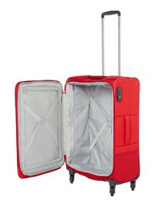 Samsonite Base boost red 4 wheel 66cm medium suitcase