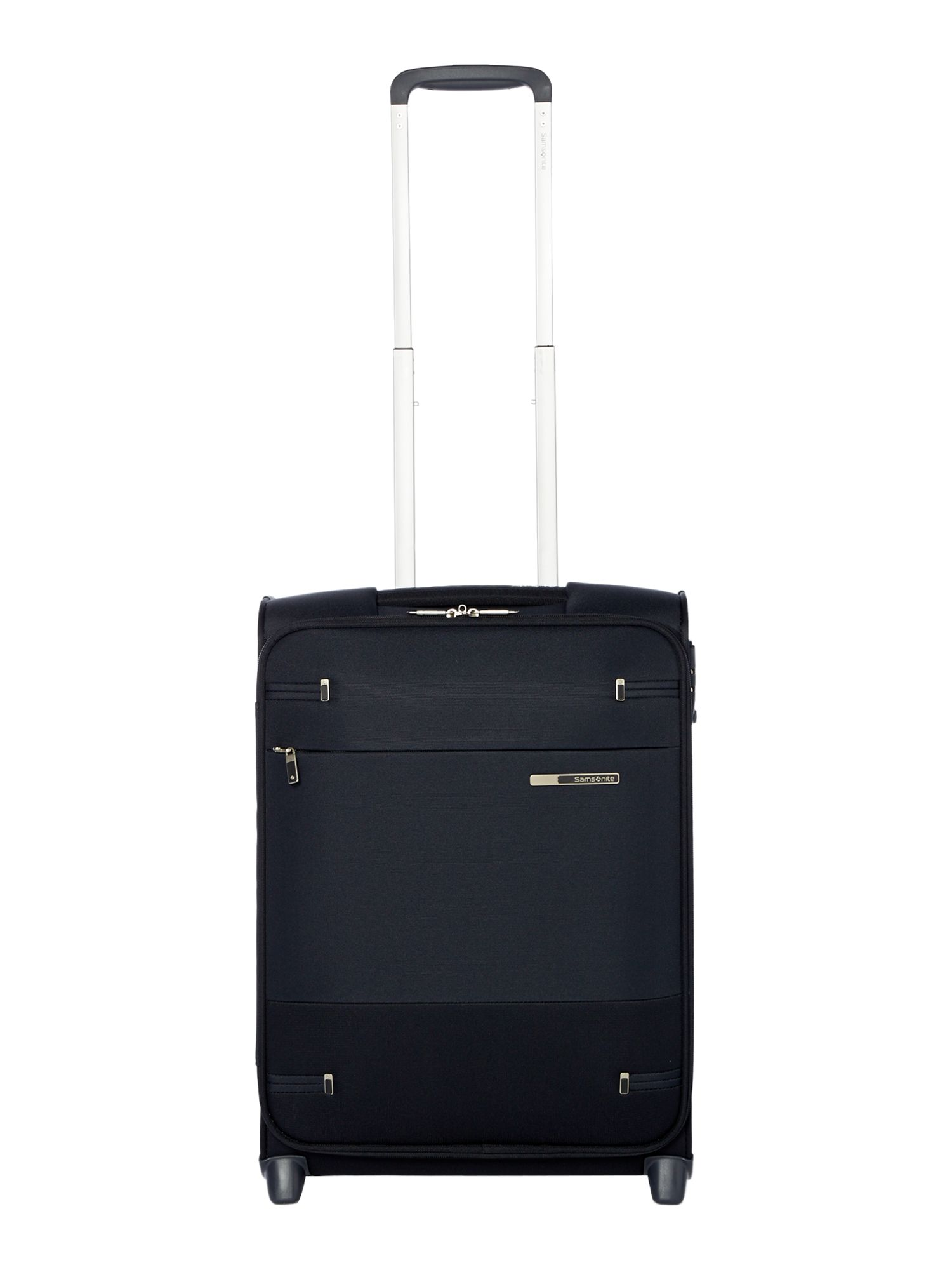 Samsonite BASE BOOST BLACK 2 WHEEL 55CM CABIN SUITCASE, Black