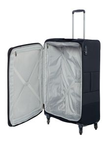 Samsonite Base boost black 4 wheel 78cm large suitcase