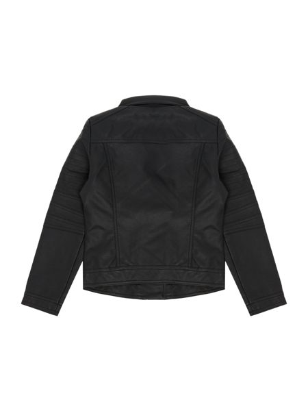 Blush Girls Black Biker Jacket