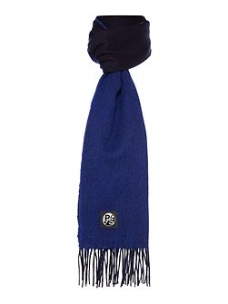 Two Colour Knit Scarf