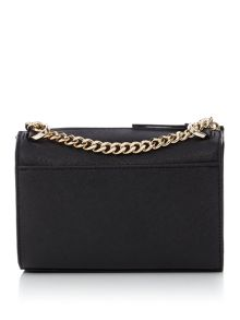 DKNY Saffiano chain square cross body bag