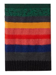 Paul Smith Mohair Multi Stripe Scarf