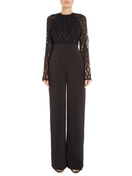 Lavish Alice Velvet sequin jumpsuit