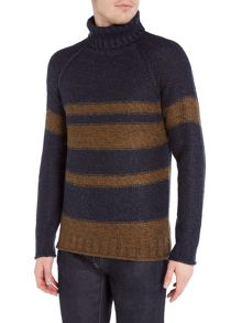 Only & Sons Stripe High-Neck