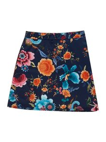 Blush Girl`s Skirt Wrap Floral