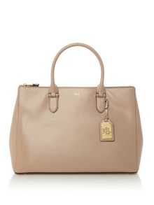 Lauren Ralph Lauren Newbury zip satchel bag