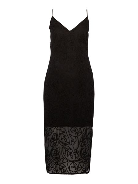 Lavish Alice Sleeveless cornelli cami dress