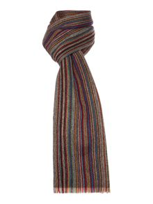 Paul Smith London Thin multi colour scarf