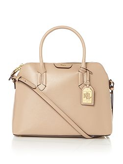 Tate dome satchel bag