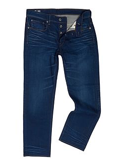 3301 Itano Loose Fit Stretch Mid Wash Jeans