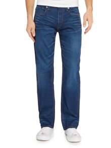 G-Star 3301 Itano Loose Fit Stretch Mid Wash Jeans