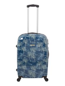 Linea Journey 4 wheel hard medium suitcase
