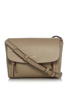 DKNY Greenwich mini flapover crossbody bag