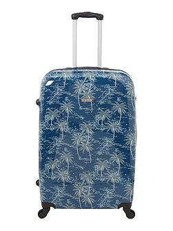 Journey 4 wheel hard large suitcase