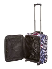 Linea Tropic 2 wheel soft cabin suitcase