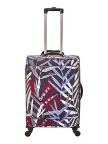 Linea Tropic 4 wheel soft medium suitcase