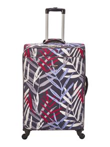 Linea Tropic soft 4 wheel large suitcase