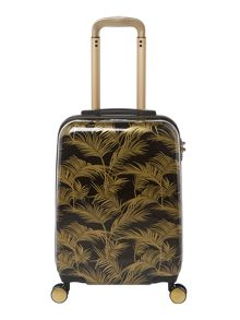 Biba Jungle palm 8 wheel hard cabin suitcase