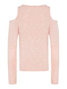 Blush Girl`s Long Sleeve Jersey Top