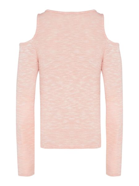 Blush Girls Long Sleeve Jersey Top