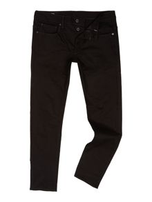 G-Star 3301 Black Edington Slim Fit Stretch Denim Jeans