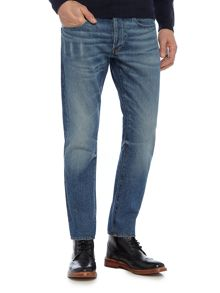 G-Star 3301 Tobe Slim Fit Mid Wash Jeans