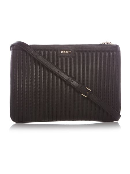 DKNY Pinstripe small crossbody bag