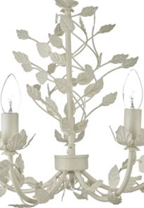 Linea Darcy metal leaf chandelier