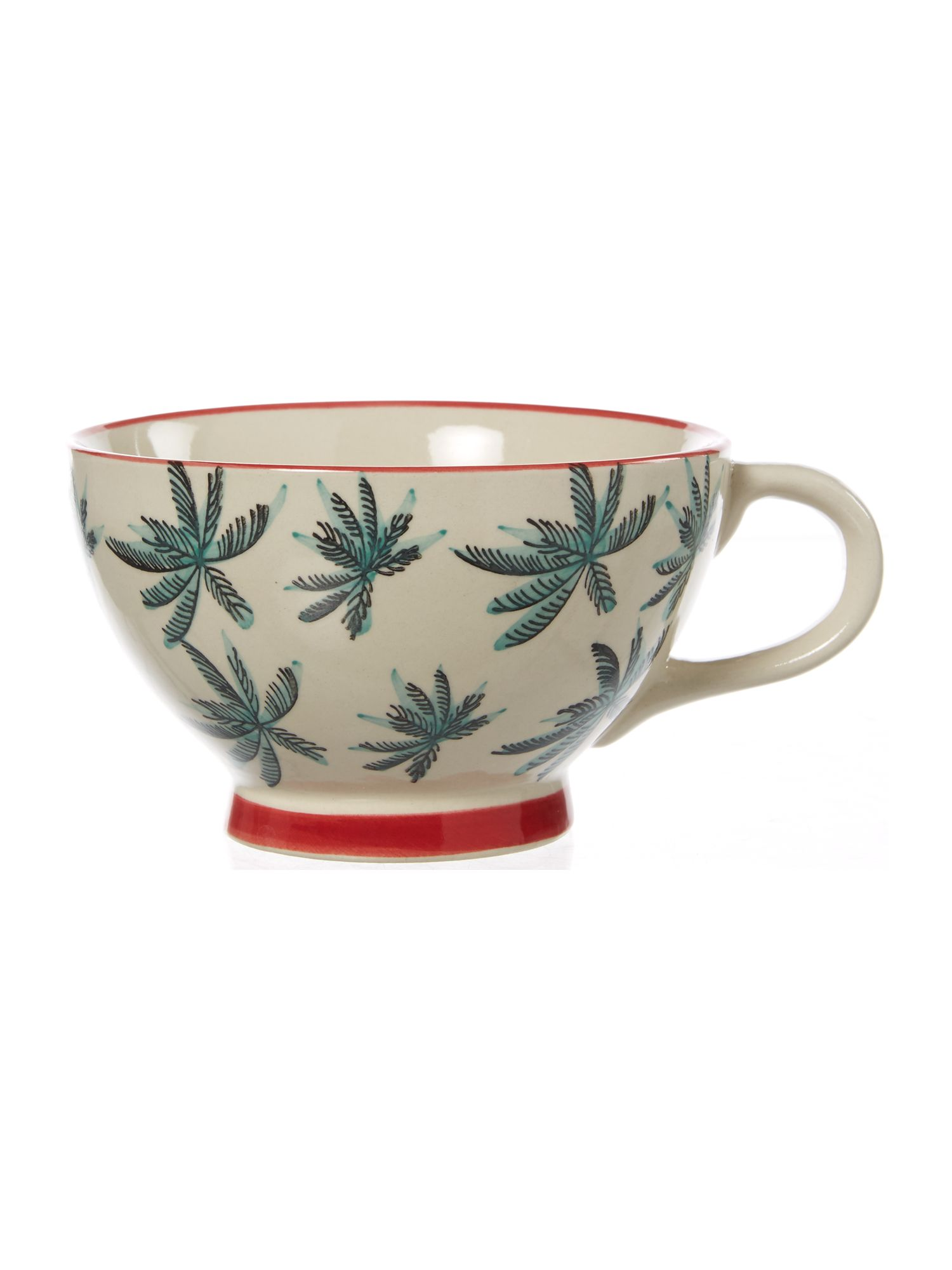 Linea Villa Vista Palm Tree Mug
