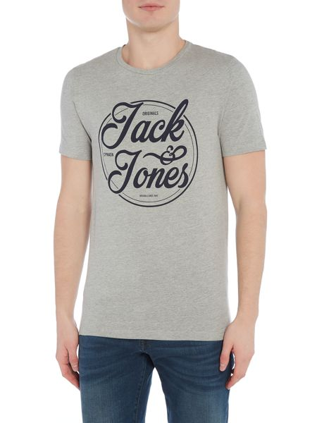 Jack & Jones Cotton Logo Short-Sleeve T-shirt