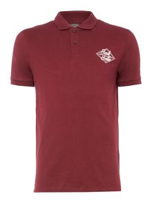 Jack & Jones Cotton Logo Short-Sleeve Polo Shirt