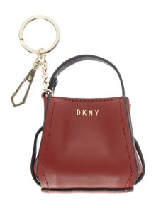 DKNY Mini bucket bag charm