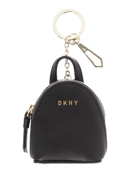 DKNY Mini backpack bag charm