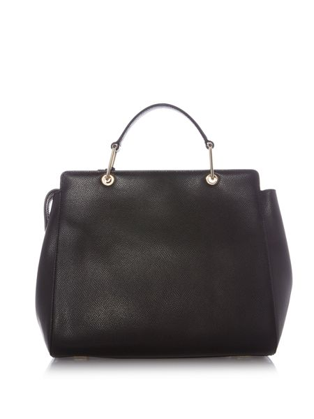 DKNY Saffiano medium satchel bag