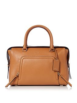 Chelsea vintage tan large satchel