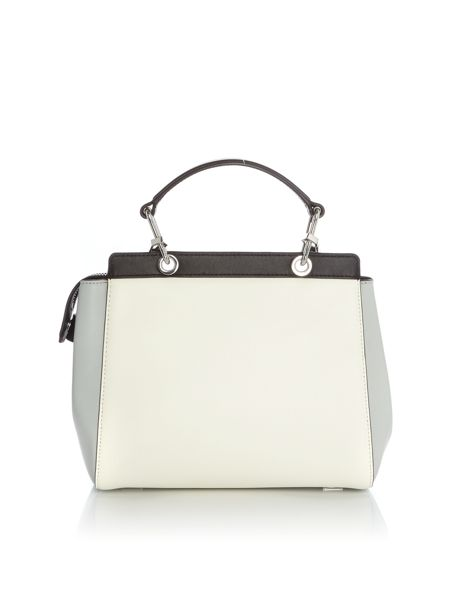 DKNY Riverside haircalf satchel bag